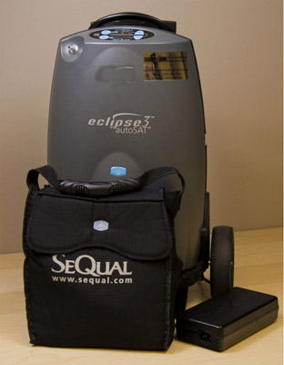 Eclipse Oxygen Concentrator with Accessories
