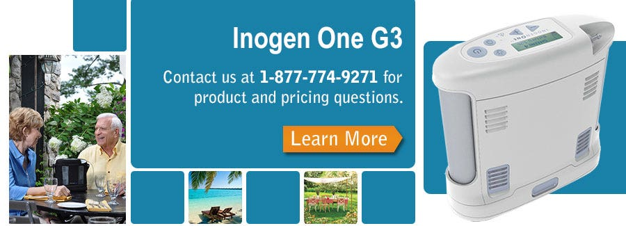An In-depth look at the Inogen One G3
