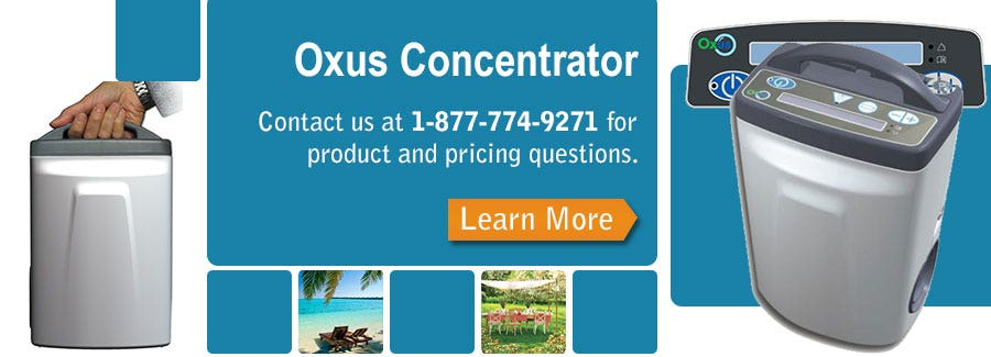 An In-depth look at the Oxus Portable Oxygen Concentrator