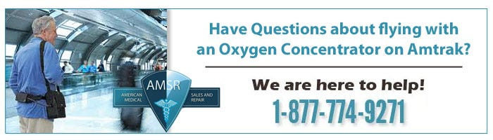 Tips on Traveling with Amtrak and Your Portable Oxygen Concentrator
