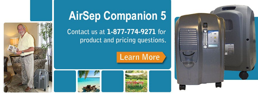 In Depth look at the AirSep Companion 5 Home Concentrator