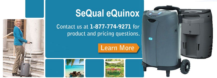 SeQual eQuinox Portable Concentrator Product Pricing