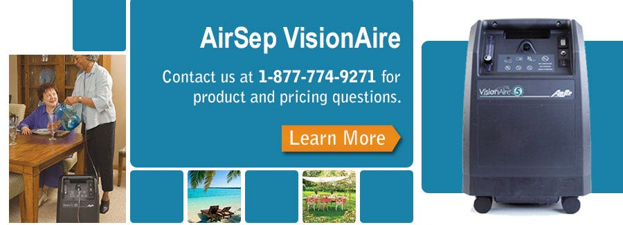 An In-Depth Look at the AirSep VisionAire Stationary Oxygen Concentrator