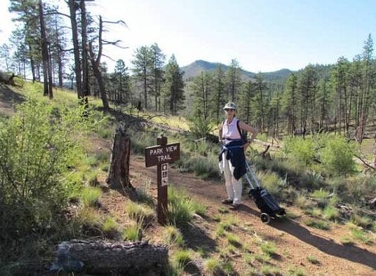 Hiking the North Fork Trail - Adventures with Oxygen
