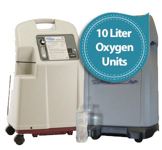 10 Liter Flow Oxygen Concentrators