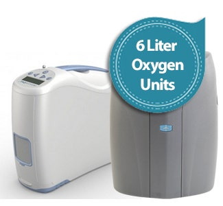6 Liter Flow Oxygen Concentrators