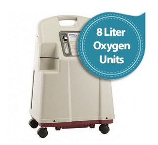 8 Liter Flow Oxygen Concentrators