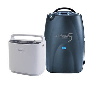 Continuous Flow Portable Oxygen Concentrators
