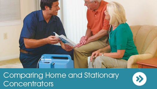 Comparing Home and Stationary Oxygen Concentrators