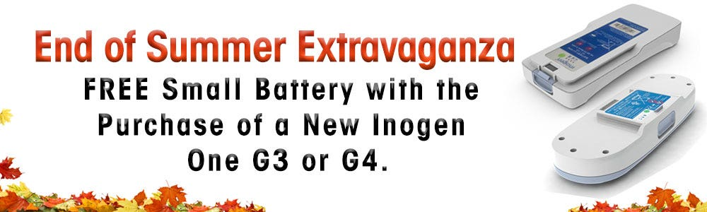 FREE Small Battery with the Purchase of a New Inogen One G3 or G4