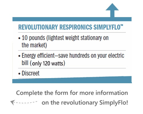 Respironics SimplyGo - Ligthest Home Concentrator