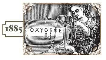 In 1885, the first recorded use of medical oxygen was on a patient with pneumonia.