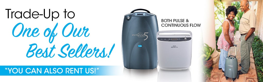 Trade Up to a Best Selling Oxygen Concentrator