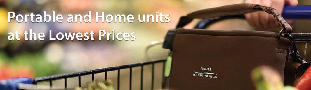 Oxygen Concentrators - Home and Portable Units