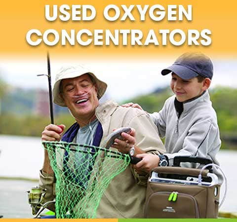 Used Home and Portable Oxygen Concentrators