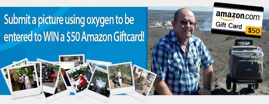 Send Us Your Picture Using a Oxygen Concentrator