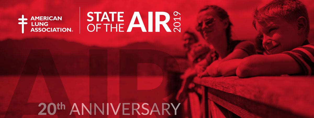 2019 American Lung Association State of the Air