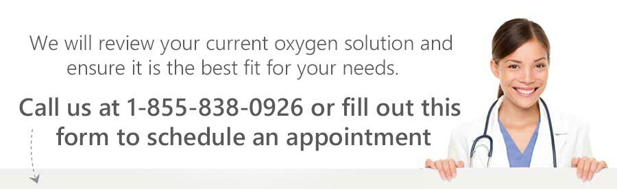 Check Your Oxygen Concentrator - Schedule an Appointment