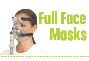 Full Face CPAP Masks for Sleep Apnea