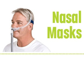 CPAP Nasal Masks for Sleep Apnea