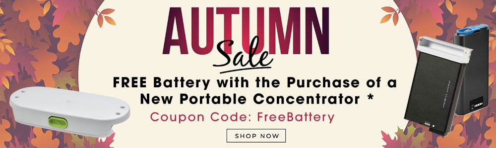 Free Portable Concentrator Battery Fall Frenzy Sale