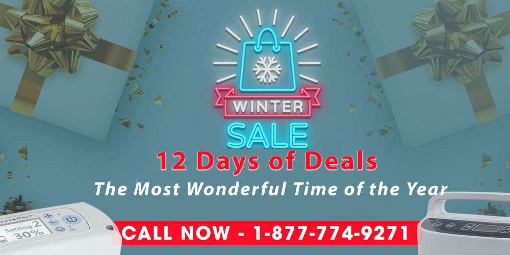 Oxygen Concentrator Store Winter Sale