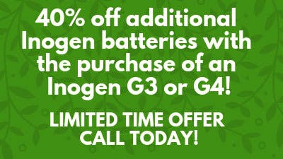 40% Off Inogen Batteries