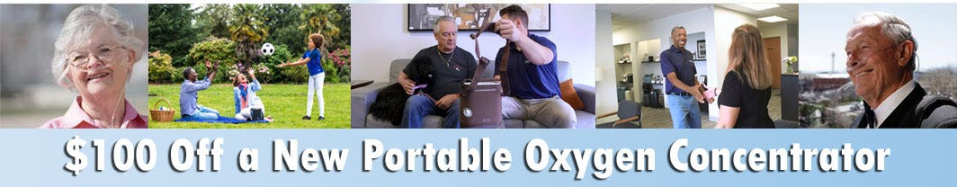 $100 Off Promo Code Portable Oxygen Concentrator