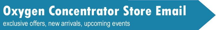 Oxygen Concentrator Store Newsletter Signup