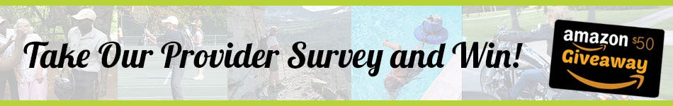Take Our Provider Survey and Win!