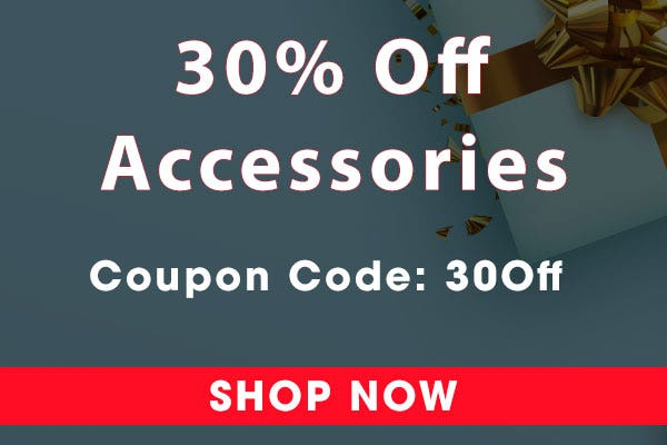 30 Off Oxygen Accessories - Black Friday Sale