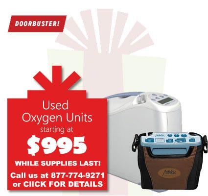 Black Friday Sale - Used Units starting at $995
