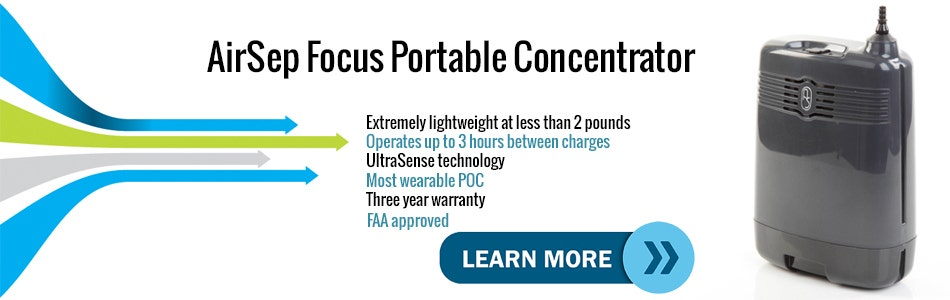 Introduction Video to the AirSep Focus Mobile Oxygen Concentrator