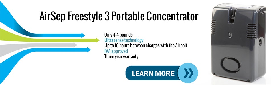 Introduction Video to the AirSep Freestyle 3 Mobile Oxygen Concentrator