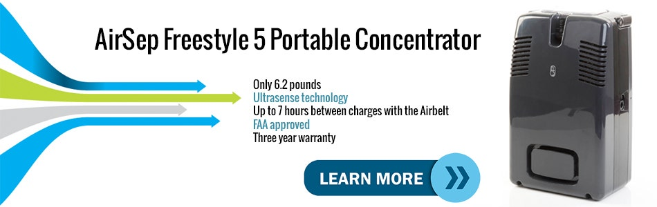Introduction Video to the AirSep Freestyle 5 Mobile Oxygen Concentrator