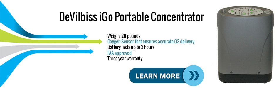 Introduction Video to the DeVilbiss iGo Mobile Oxygen Concentrator
