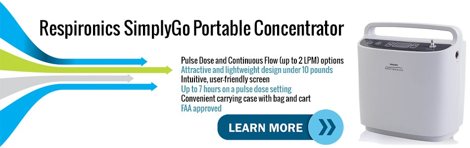 Introduction Video to the Respironics SimplyGo Mobile Oxygen Concentrator