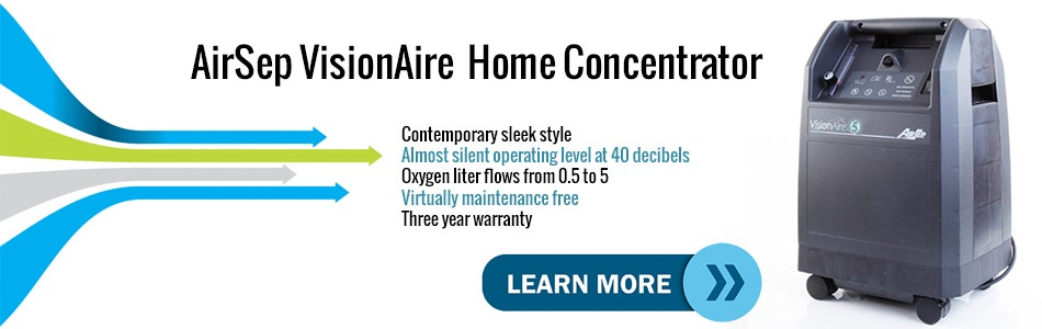 Introduction Video to the AirSep VisionAire Stationary Oxygen Concentrator