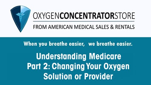 Supplement Oxygen and Medicare FAQs